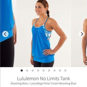 Lululemon No Limits Tank